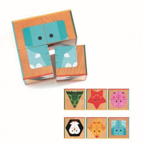 Puzzle din lemn pentru copii de 2 ani 6