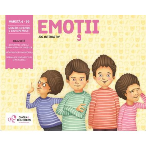 Joc Interactiv - Emotii imagine