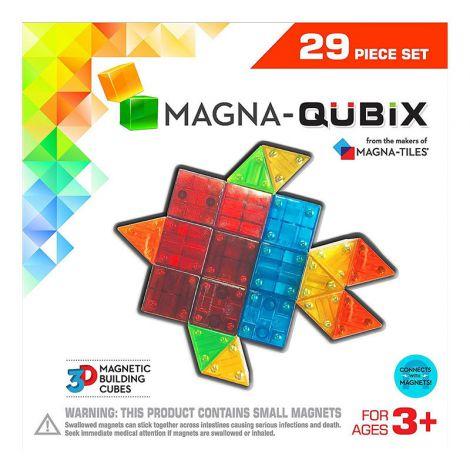 Set de constructie-Magna-Qubix set magnetic