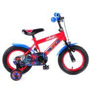 Bicicleta e&l spiderman 12''