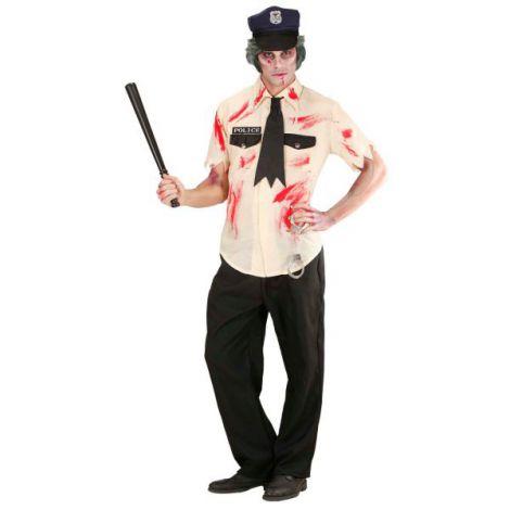 Costum zombie politist