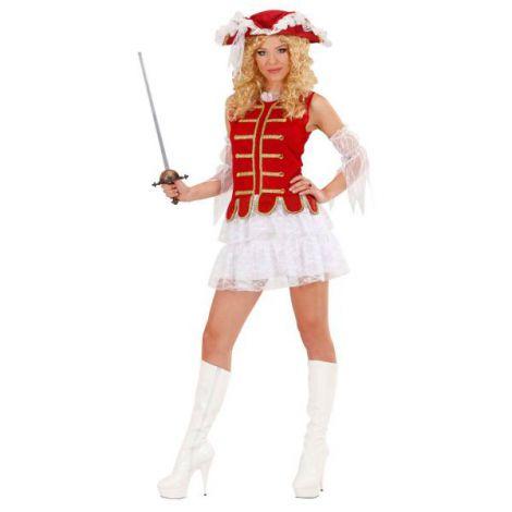 Costum Muschetar Dama imagine