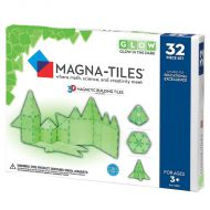 Set de constructie-Magna-Tiles GLOW fosforescent set magnetic
