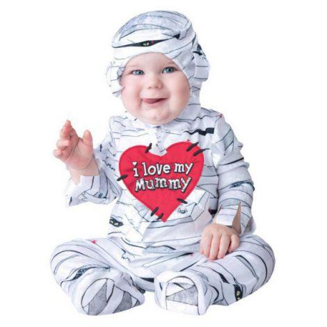 Costum Bebe Mumie imagine