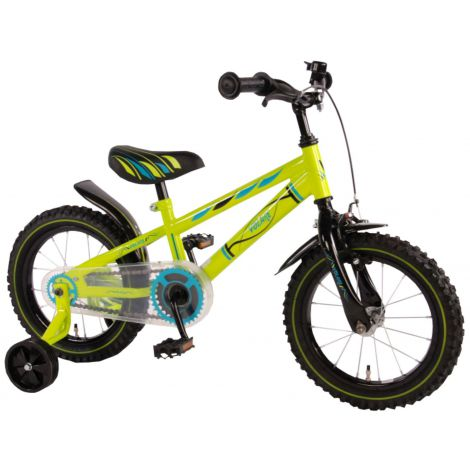 Bicicleta e-l blade electric green 14