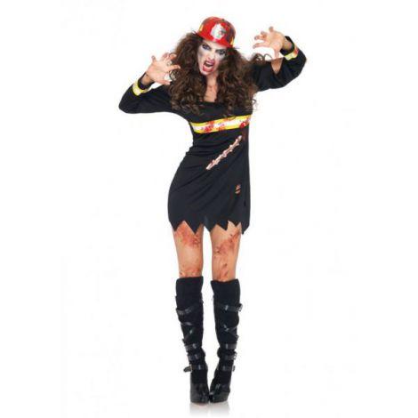 Costum zombie pompier sexy