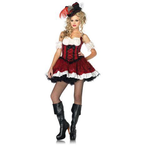 Costum pirat sexy - marimea 158 cm