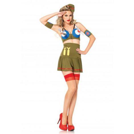 Costum bomber girl