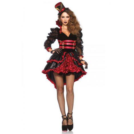 Costum Vampirita Stil Victorian Halloween imagine