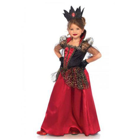 Costum Vampirita Regala Rosu imagine