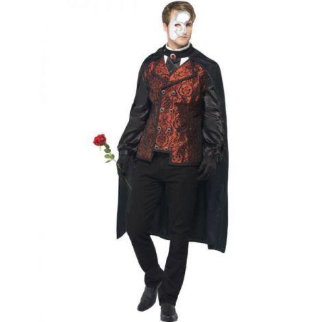 Costum Fantoma De La Opera imagine