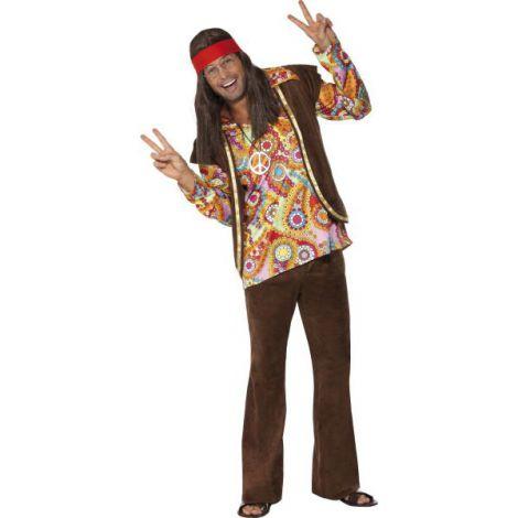 Costum Hippie Barbat imagine