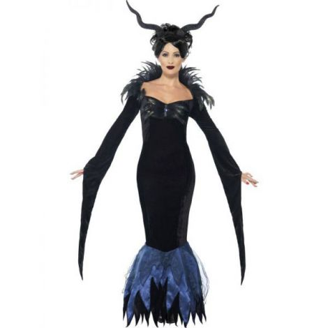 Costum maleficent femei - marimea 140 cm