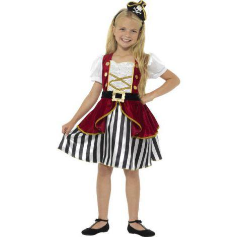 Costum pirat fete deluxe