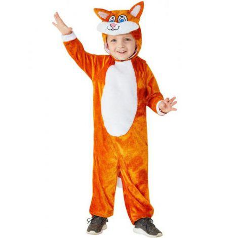 Costum vulpe 3-4 ani - marimea 110 cm