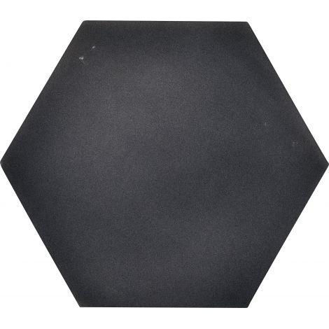 Panou hexagonal gri antracit 50 mm pentru reducerea zgomotului in clasa