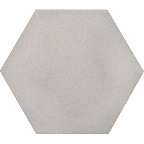 Panou hexagonal gri platina 50 mm pentru reducerea zgomotului in clasa