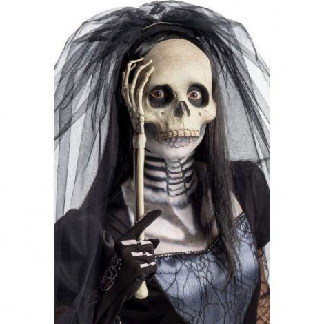 Masca schelet cu bat - marimea 140 cm
