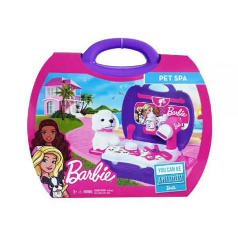 Barbie set stilist animalute