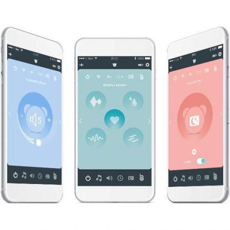 Ursulet myHummy Mia Premium + cu aplicatie pentru mobil si senzor de somn