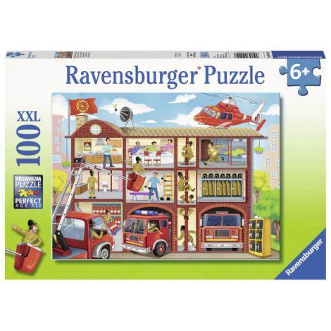 Puzzle Pompieri Salvatori,100 Piese imagine