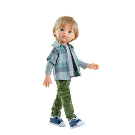 Baietelul LUIS cu pantaloni verzi, Paola Reina