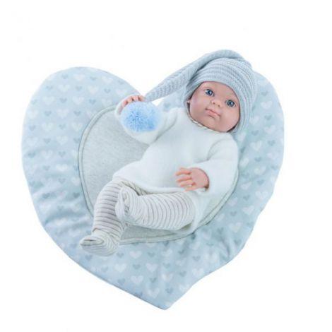 Bebelus baietel cu salteluta tip inimioara - MINI PIKOLIN, Paola Reina