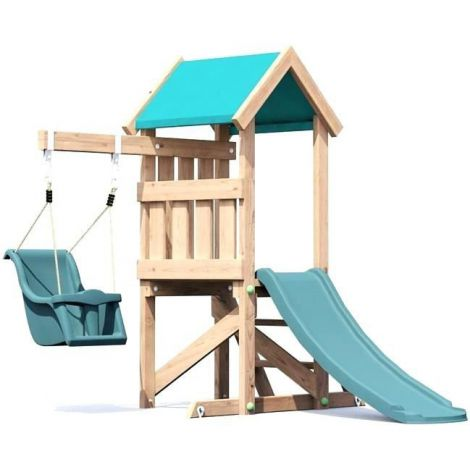 Complex de joaca din lemn MicroFort™ Dunster House