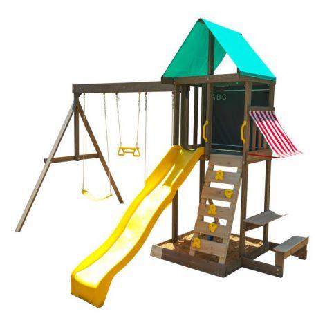Complex de joaca din lemn Newport Kidkraft