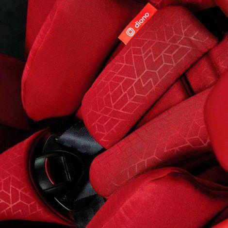 Scaun auto cu Isofix 9-36 Kg Orcas NXT Fix Red