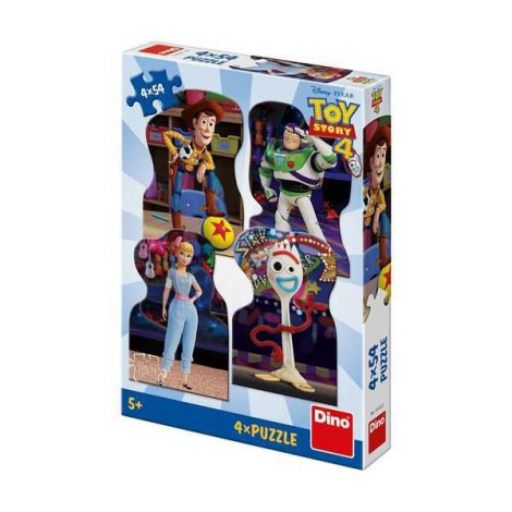 Puzzle 4 in 1 - toy story 4 (54 piese)