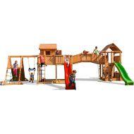 Complex de joaca din lemn Fungoo Maxi set SPIDER LAND