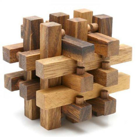 Puzzle mini lemn model 1