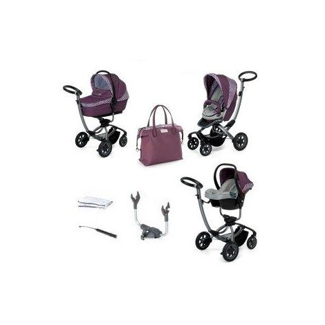 Carucior 3 in 1 myo - foppapedretti violet jungle