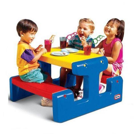 Masa de picnic pentru 4 copii - little tikes-4795