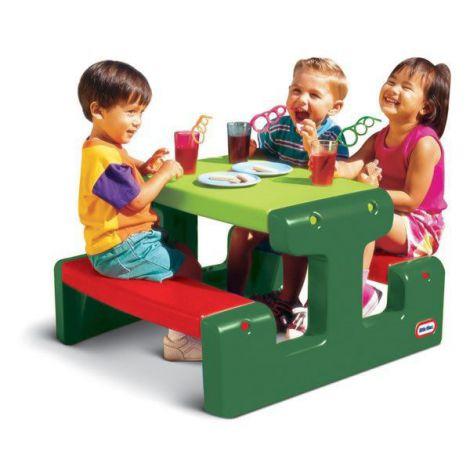 Masa de picnic pentru 4 copii - little tikes-479a