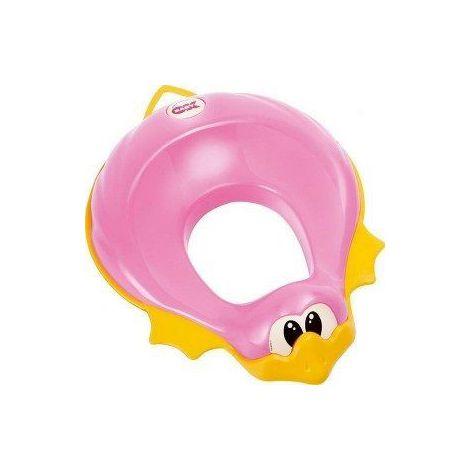 Reductor toaleta ducka - okbaby-785-roz inchis