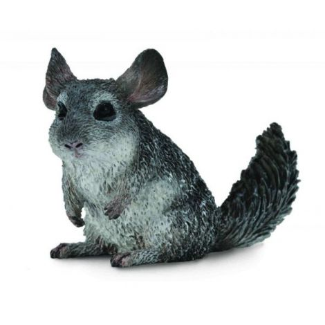 Figurina Chinchilla cu coada lunga M Collecta