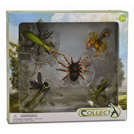 Set 5 figurine Insecte - Collecta