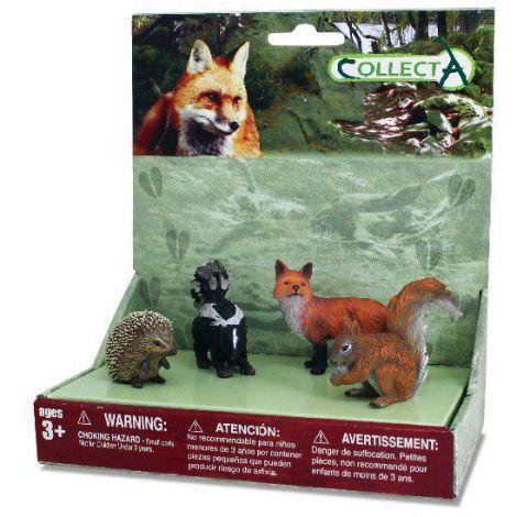 Set 4 figurine Animale din padure - Collecta