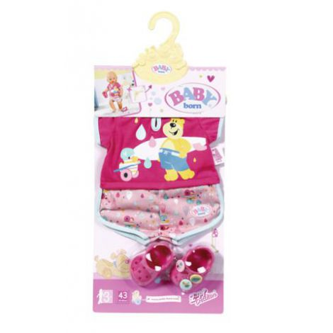BABY born - Pijamale scurte&papucei