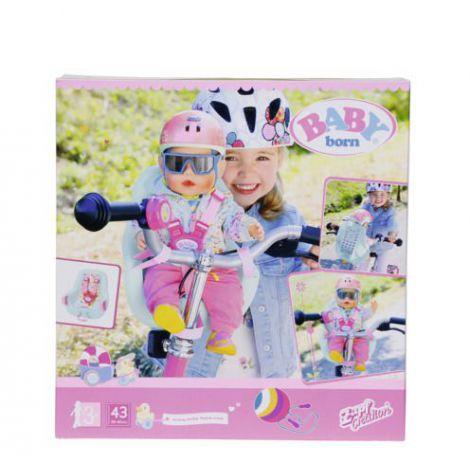 Baby Born - Scaunel Bicicleta 43 Cm imagine