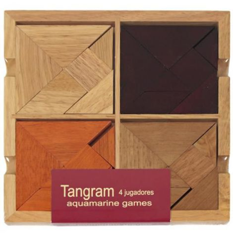 Tangram for 4 players