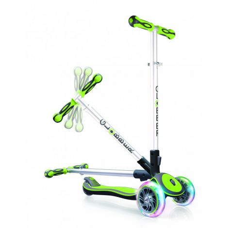 Trotineta elite lights wheels verde