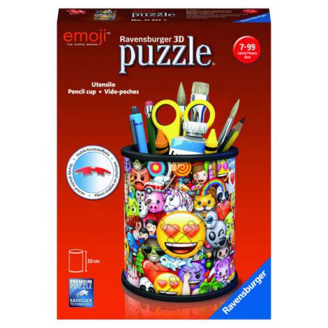 Puzzle 3D Emoji Suport Pixuri