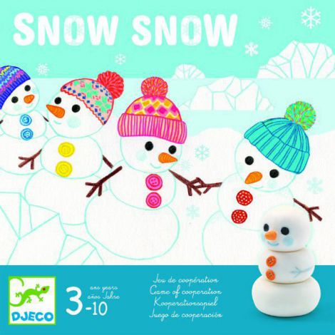 Joc de cooperare Djeco, Oamenii de zăpadă