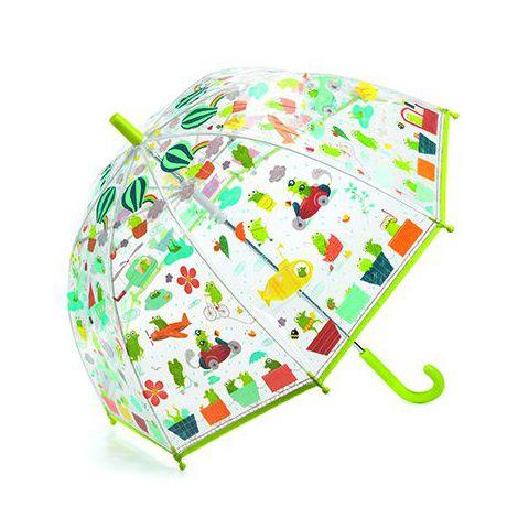 Umbrelă Colorată Djeco Broscuțe imagine