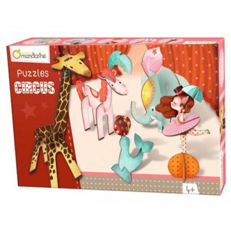 3d puzzles, circus girl