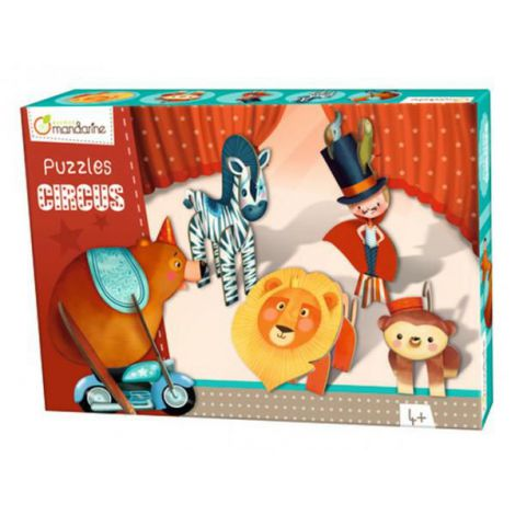 3d puzzles, circus boy