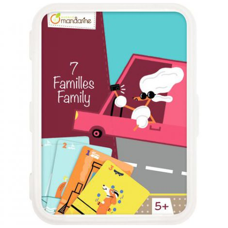 Card Games, Happy Families imagine